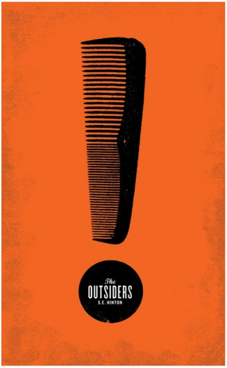 Vintage Poster Design Outsiders