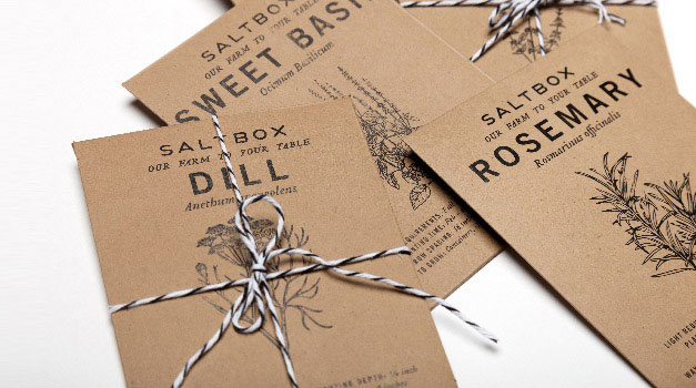 Saltbox Packaging Design