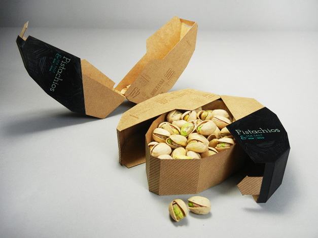 Mighty Nuts Packaging Design