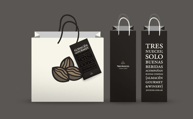 Tres-Nueces Bags Packaging Design