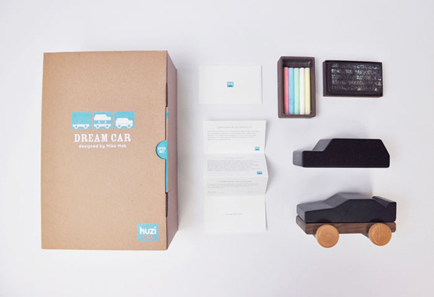 Huzi Dreamcar Packaging Design