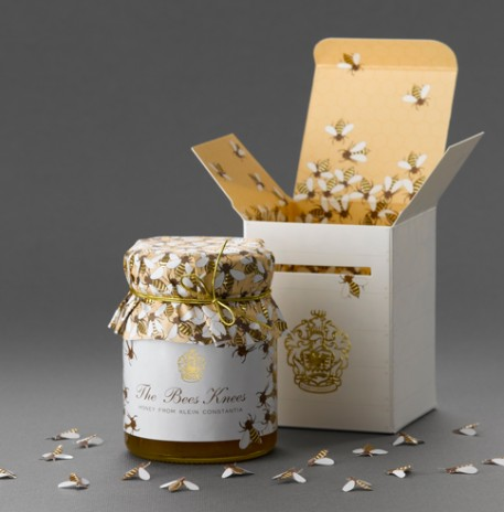 Bees Knees Honey Packaging Design